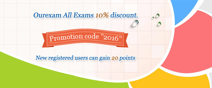 Ourexam All Exams 10% discount
